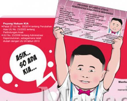 Persyaratan Pengajuan Kartu Identitas Anak ( KIA )