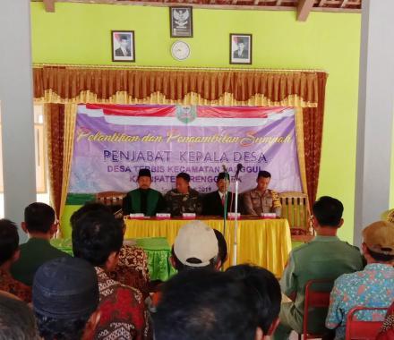 Pelantikan Pj.Kepala Desa Terbis Tahun 2019